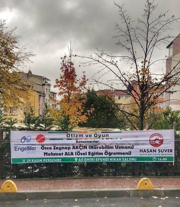 Fatih Belediyesi – Otizm Ve Oyun Semineri